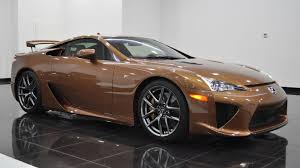 lexus lfa f sport price one off lexus lfa looks magnificent in pearl brown autoevolution