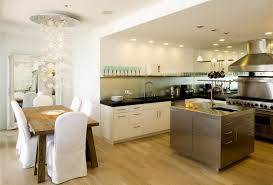 modern kitchen dining room design kitchen excellent open plan kitchen dining room design with gold