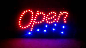 ebay a1groups led light bright open sign for hair nail salon