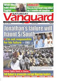 jonathan u0027s failure will haunt s south by vanguard media limited