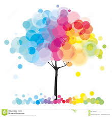 the rainbow tree royalty free stock photo image 21795625
