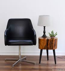 Mid Century Modern Sofa Legs by Tree Stump Side Table With Mix And Match Diy Leg Options Diy