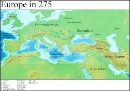 Europe On Map by Image Europe In 275 Gaul Rising Png Alternative History