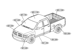 Dodge 1500 Truck Parts - dodge ram truck coloring pages coloring home