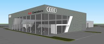audi dealership flow vw and flow audi underway in greensboro shelco