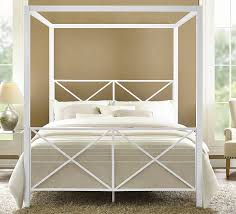 amazon com dhp rosedale metal canopy bed white queen kitchen amazon com dhp rosedale metal canopy bed white queen kitchen dining