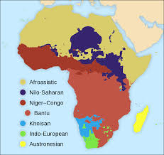 Map Of Africa And Europe by Languages Of Africa Wikipedia