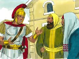 free bible images jesus heals the servant of a centurion