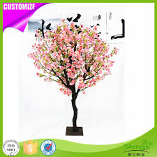 top quality silk indoor home decorative artificial cherry blossom