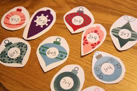 toddler approved ornament number matching game free printable