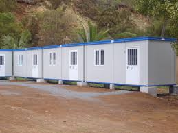 prefab camp prefabricated labour camp modular building edil euganea
