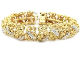 gold bracelet with diamonds images Yellow gold bracelets jpg