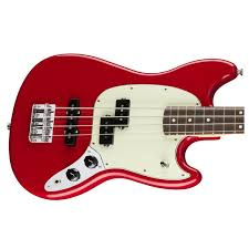 Fender Mustang Bass Black Fender Mustang Bass Guitar Torino Red At Gear4music Com