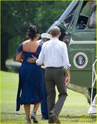 Obama S Vacation Obama Family Heads To Martha U0027s Vineyard For Summer Vacation Photo