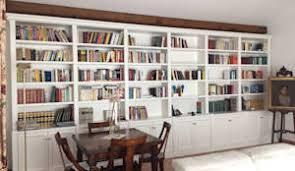 librerie bianche librerie classiche laccate bianche di falegnameria su misura homify