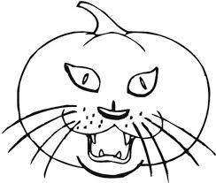 free halloween cat coloring page imagens de halloween para