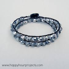 wrap bracelet tutorials images Double wrap bracelet happy hour projects jpg