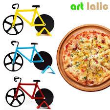 cutter de cuisine pas cher 1 pcs haute qualité vélo pizza cutter de vélo en