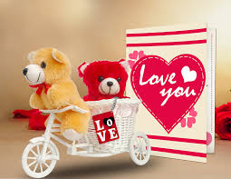 valentine s day gifts for boyfriend buy tied ribbons valentine u0027s day gift combo 2 teddy love tri