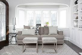 The Bay Living Room Furniture Sofa In Bay Window Transitional Living Room Stephani Buchman