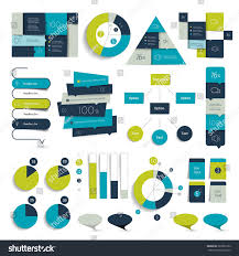 set blue infographics elements schedules tabs stock vector set of blue infographics elements schedules tabs banners charts minimalistic vector
