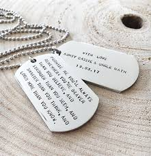 graduation dog tags dog tag necklace inspirational quote necklace sted