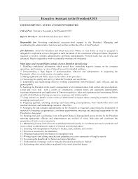 Excellent Administrative Assistant Resume 10 Best Images Of Executive Assistant Responsibilities Resume