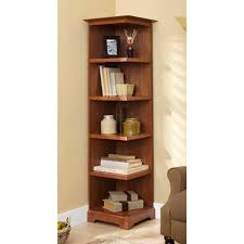 Corner Bookcases Corner Bookcase Woodworking Plan From Wood Magazine