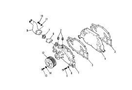 Ford 390 Water Pump каталог запчастей Mercruiser остальные 7 3l Bravo U0026 Mie Diesel
