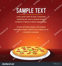 fast food restaurant menu card design stock vector 534166738