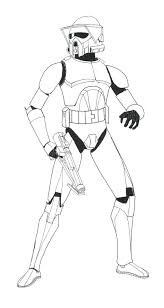 Star Wars Clone Trooper Coloring Pages In For T Vonsurroquen Me Wars Clone Coloring Pages
