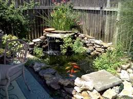 Backyard Pond Pictures by A Backyard Fish Pond Youtube