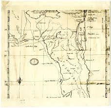 Amelia Island Florida Map by Florida Memory Spanish Trail Map Of Florida 1750