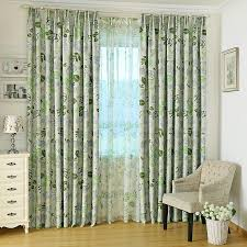 Curtains With Green Stunning Green Blackout Curtains With Leaves Patterns With Green