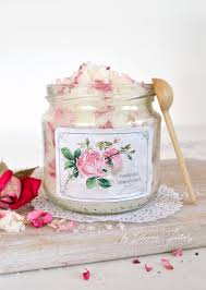 At Home Diys by Diy Rose Petal U0026 Lavender Sugar Scrub Dreams Factory