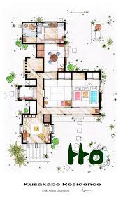 how to get floor plans for my house 22 best studio ghibli images on my totoro