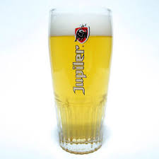 bicchieri birra belga bicchiere birra jupiler cl 50 belgio collezionismo pub bar stock