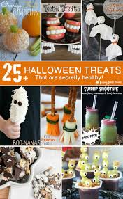 25 healthy halloween treats for kids living well mom