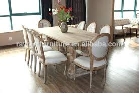 dining table vintage wood dining table and chairs rustic room