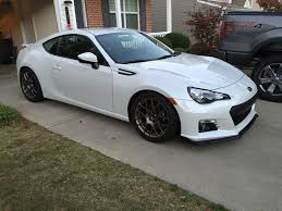 modified subaru fs 2013 subaru brz limited white tastefully modified 21k