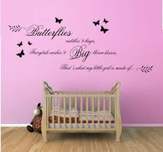 decoration ideas epic picture of 3d black and pink butterfly wall divine image of home wall decoration with butterfly wall murals divine girl baby nursery room