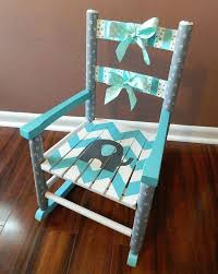 Wooden Rocking Chairs Nursery Childs Wooden Rocking Chair Painted Wooden Rocking Chair