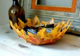Fall Homemade Decorations - remarkable diy fall leaf bowls for your interior decor advisor