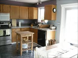 Gray Kitchen With Oak Cabinets Kitchen Staining Oak Cabinets Grey Prefab Kitchen Cabinets Grey
