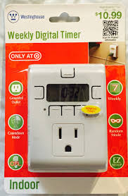 Workchoice Outdoor Grounded Outlet With by Westinghouse Weekly Digital Timer Indoor And 50 Similar Items