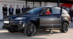 bmw q7 car audi takes the lead from bmw in 2014 global luxury car sales q7