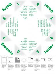 remember cootie catchers here u0027s a scout themed one fun idea