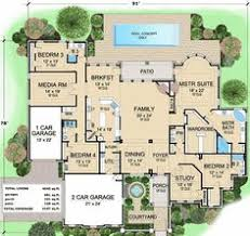 house layouts plan 36246tx luxury house plan with central courtyard luxury