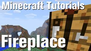 minecraft tutorial how to make a fireplace howcast the best