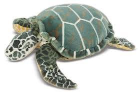 amazon com melissa u0026 doug giant sea turtle lifelike stuffed